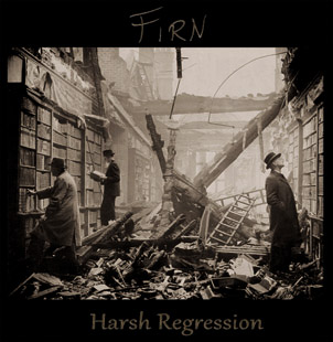 Firn - Harsh Regression cover front